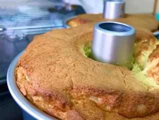 米粉シフォンケーキの作り方